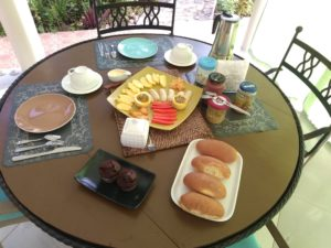Desayuno en la Cañada del Limón